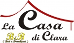 La Casa di Clara bed and breakfast Esine Valle Camonica Logo